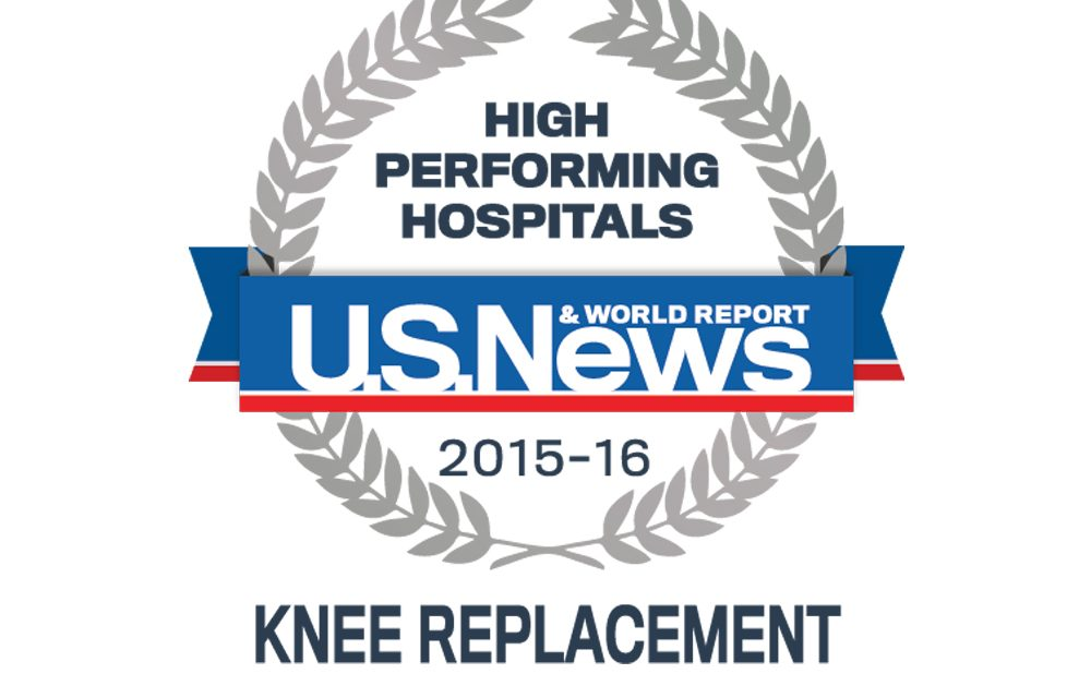 Photo of US News High Performing Hospitals Knee Replacement