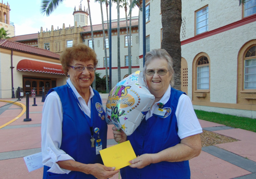 Connie St. Denny Named Halifax Health Volunteer of the Month for October
