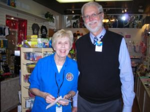 Juanita Poffenbarger Named Halifax Health Volunteer of the Month for January