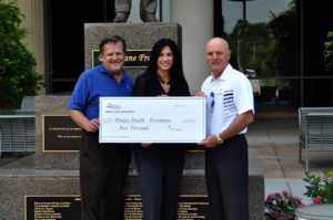 Spirit of the Automobile Organizers Make Donation to Halifax Health – Foundation