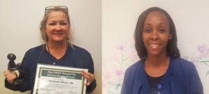 Kim Albery and Mary Little recgonized as DAISY Award WInners