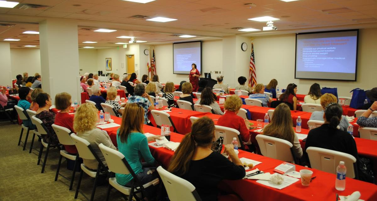 Area Women Learning about heart care