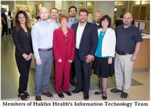 Picture of Halifax Health's Information Technology Team