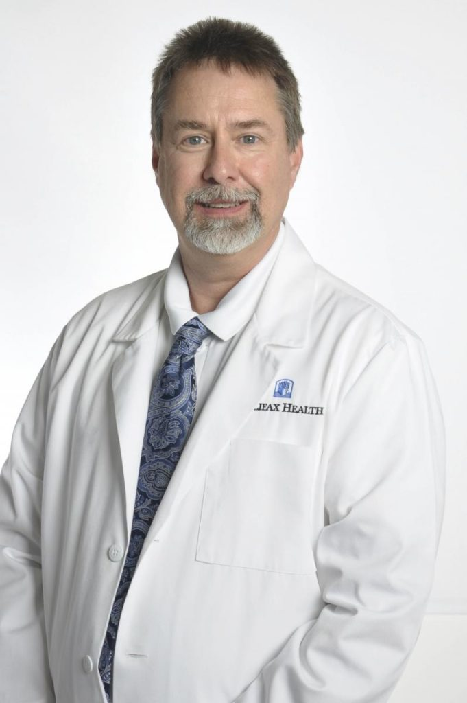 Picture of Neuropsychologist Eugene Rankin, Ph.D. Halifax Health Brooks Center for Inpatient Rehabilitation