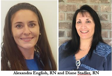 Alexandra English and Diane Stadler