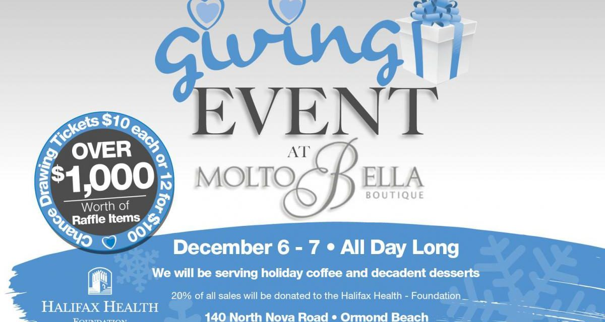 Giving Event at Molto Bella