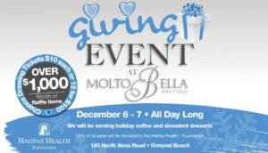 Giving Event at Molto Bella