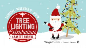 Tanger Outlets Christmas Tree Lighting