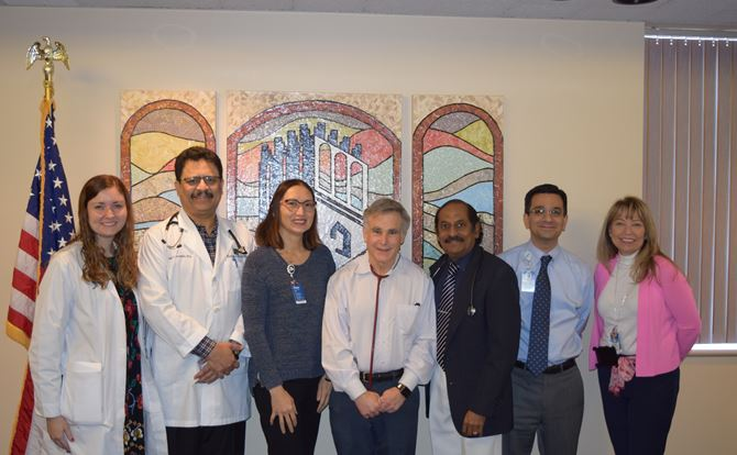 Halifax Health – Center for Oncology physicians and staff.