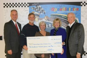 Lowell and Nancy Lohman Make Donation for Diabetes Education