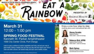 Eat A Rainbow Colon Health Event