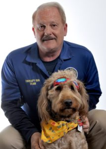 Ken Houk and Dog Teddy