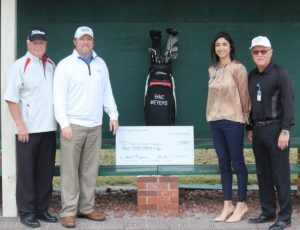 Riviera Open Organizers Make Donation to Halifax Health-Foundation for Cardiology Program Services