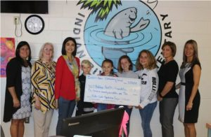 Indian River Elementary Students Make Donation to the Halifax Health - Foundation Pediatrics Fund
