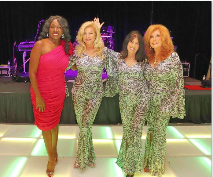 Three women at 2019 Bahama Casual event