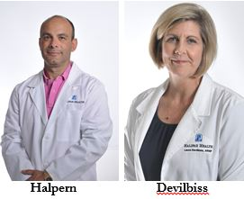 Andrew C. Halpern, M.D. and Laura Devilbiss