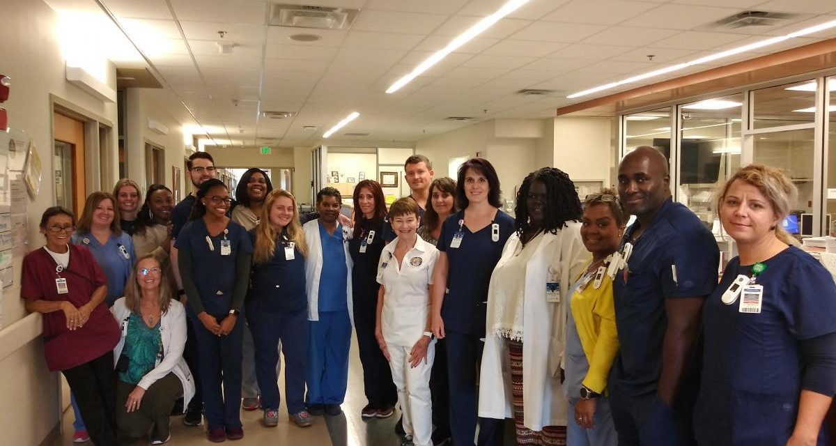 Members of the Neuroscience team in the Halifax Health - Comprehensive Stroke Center