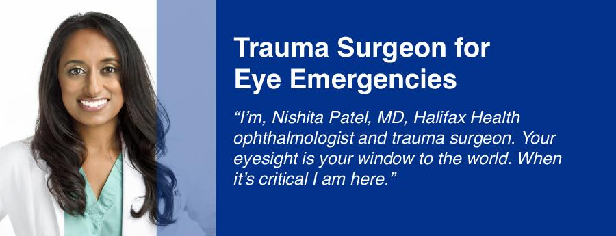 Trauma Surgeon for Eye Emergencies