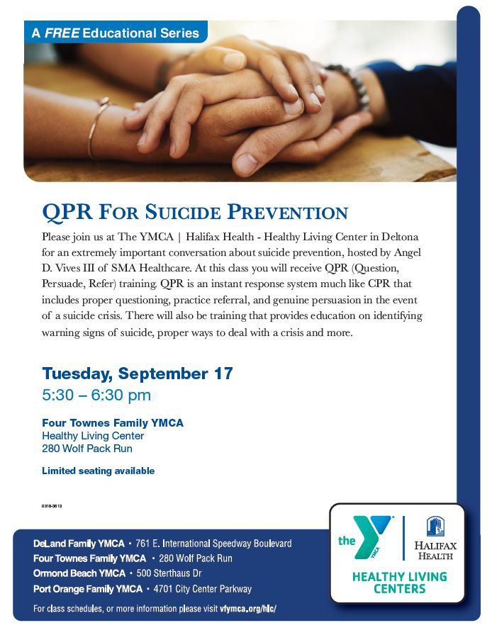 Suicide Prevention - QPR