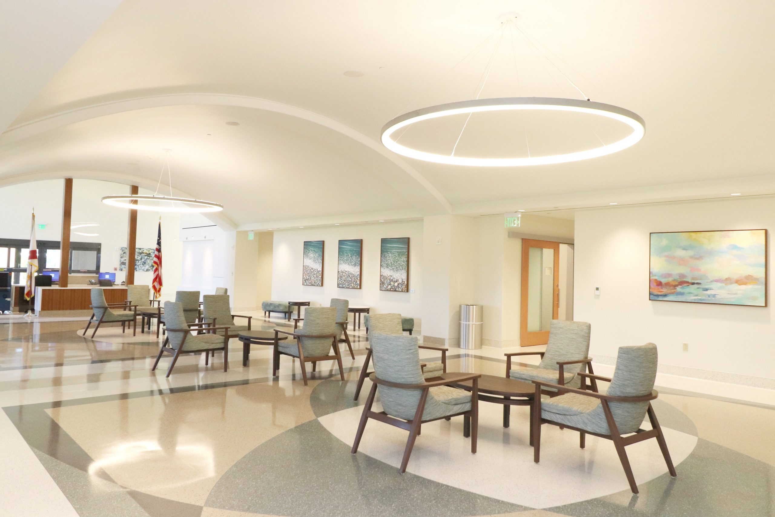 Image Featuring inside lobby area at Medical Center of Deltona