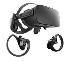 To show an image of the Oculus Rift Equiptment
