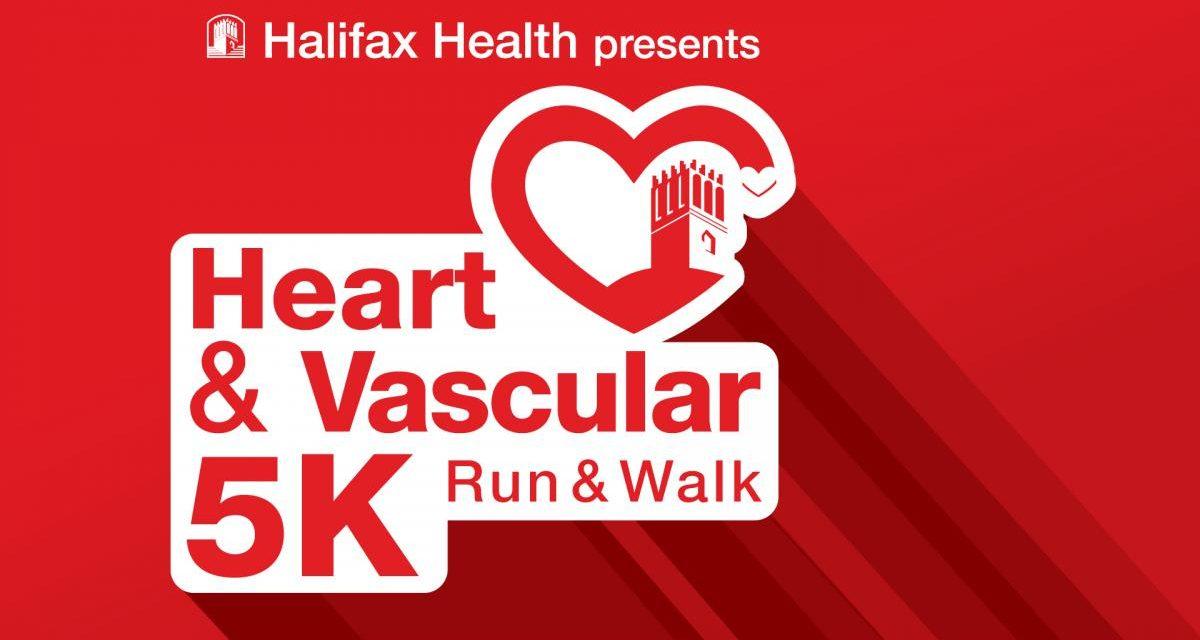 Image of Halifax Health Heart and vascular 5k Run and Walk logo