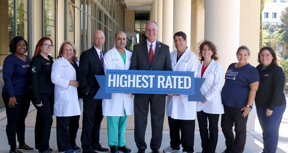 Halifax Health Medical Center Named A Top 50 Cardiovascular Hospital By Ibm Watson Health Halifax Health