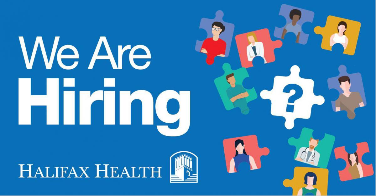 Photo of Halifax Health Logo for Job Fairs
