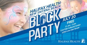 Halifax Health New Smyrna Beach Block Party