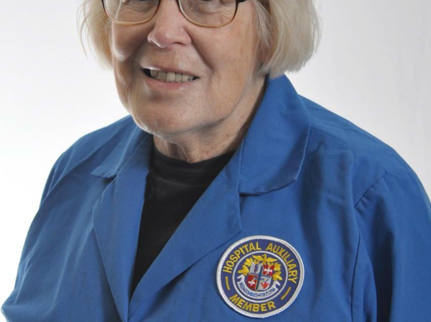 Picture of Mae Oakley December 2019 volunteer of the month at Halifax Health