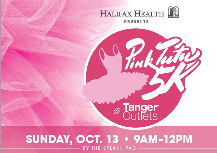 Poster of 2nd Annual Halifax Health Pink Tutu 5K and PinkStyle After Party at Tanger Outlets Set for October 13