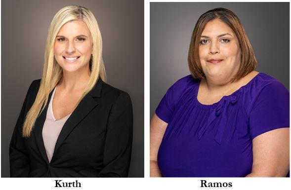 Picture of Amy Kurth and Erica Ramos, Halifax Health | Brooks Rehabilitation Celebrate the STAR award