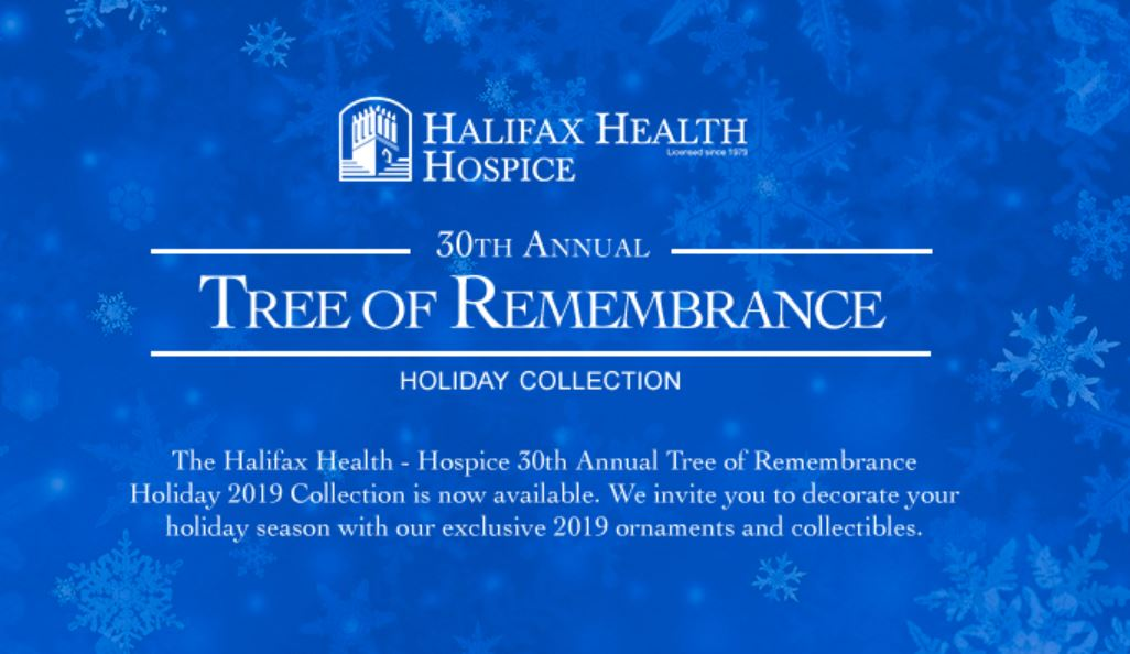 Image for 30th Annual Tree of Remembrance Holiday Collection; Halifax Health Hospice