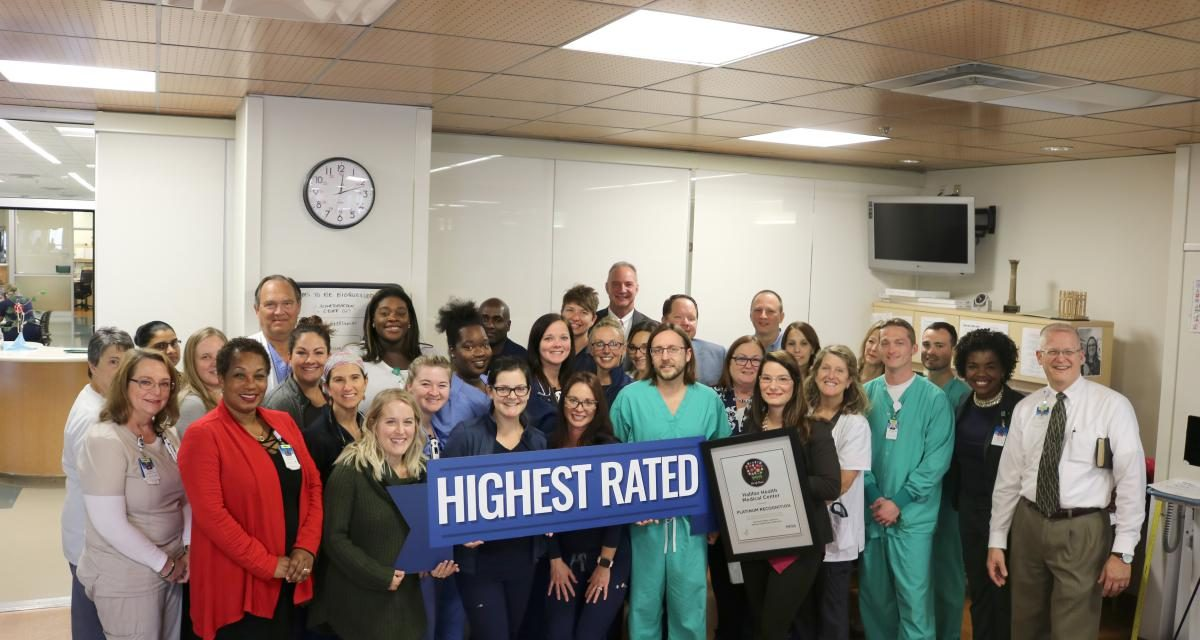 Picture of Halifax Health Medical Center's Intensive Surgical Care and Intensive Medical Care Team Members