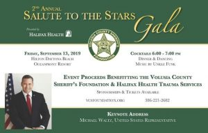 Photo of promotion for 2nd Annual Salute to the Stars Gala presented by Halifax Health