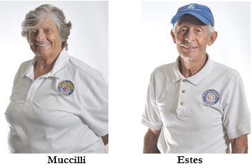 Photo of Janice Muccilli of Ormond Beach and Tom Estes of Daytona Beach Halifax Health Auxilians