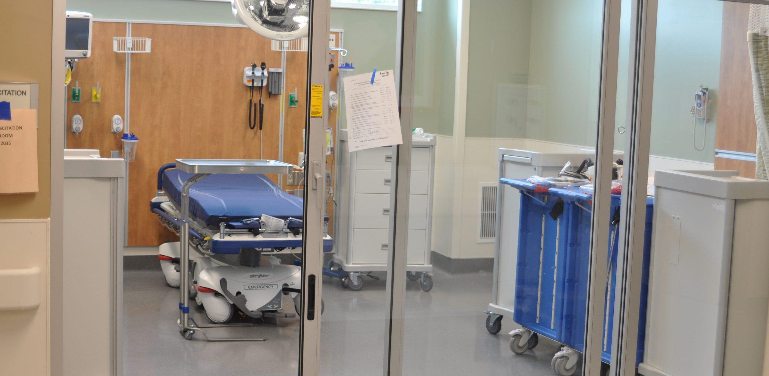 room at Halifax Health UF Health Medical Center of Deltona Emergency Department