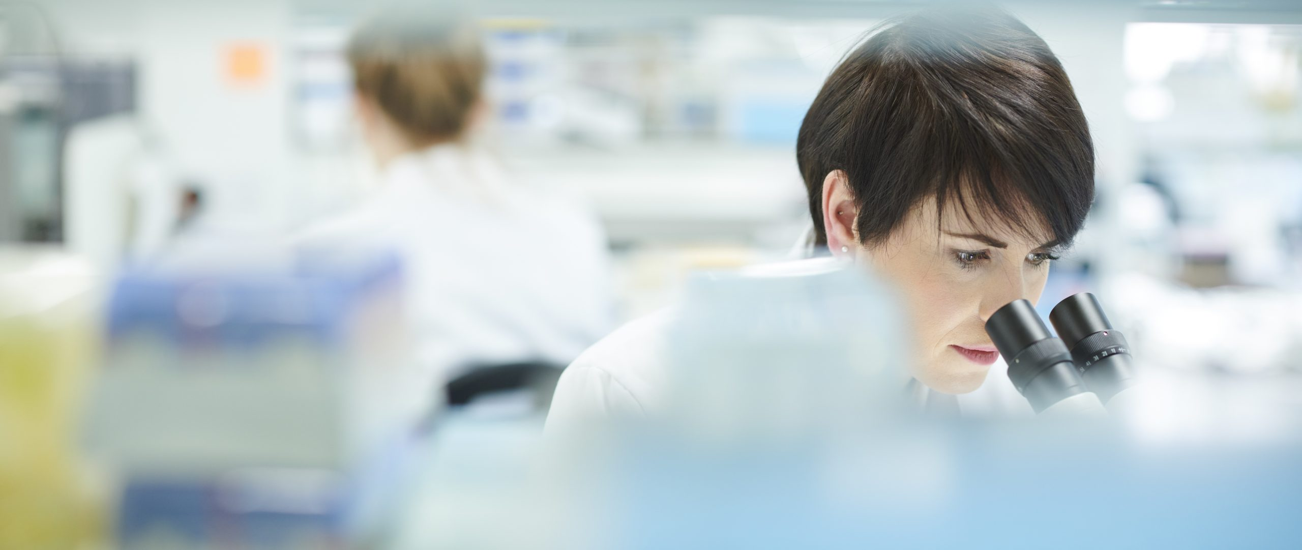 photo of woman in lab setting