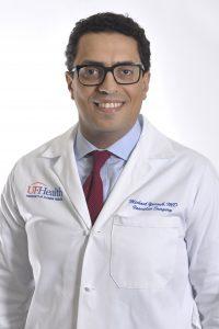 Headshot of Dr, Michael Yacoub Halifax Health UF Health Heart & Vascular Surgery