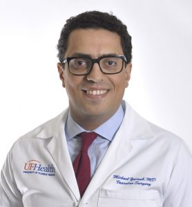 Headshot of Dr, Michael Yacoub Halifax Health UF Health Heart & Vascular Surgery