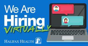 Image of Halifax Health Virtual Career Fair logo