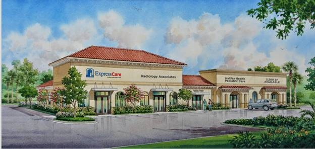 Rendering of Belvedere Medical Park - Port Orange