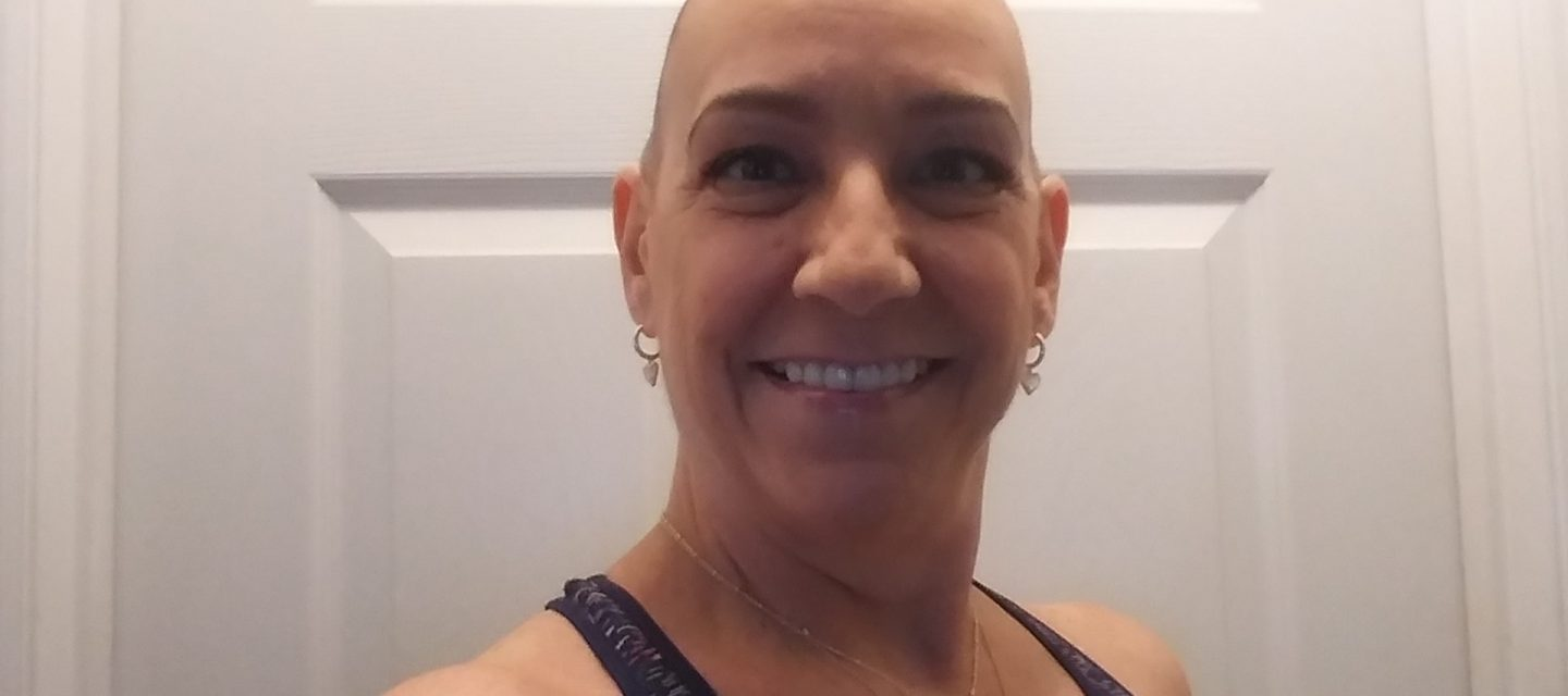Photo of Donna Pinckney, with a smiling selfie