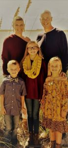 Laura Stegall and family