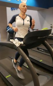 Laura Stegall training