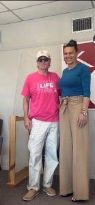 Laura Stegall and Dr. Molpus at Celebrate Life 2021