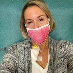 Jennifer Smith during treatment